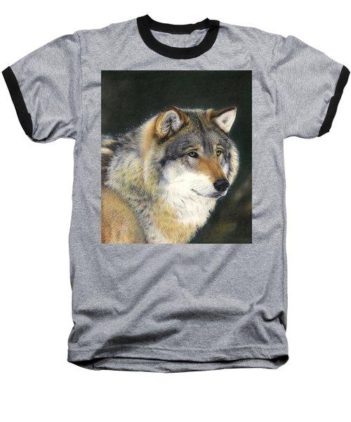 Midwinter Sunrise Baseball T-Shirt