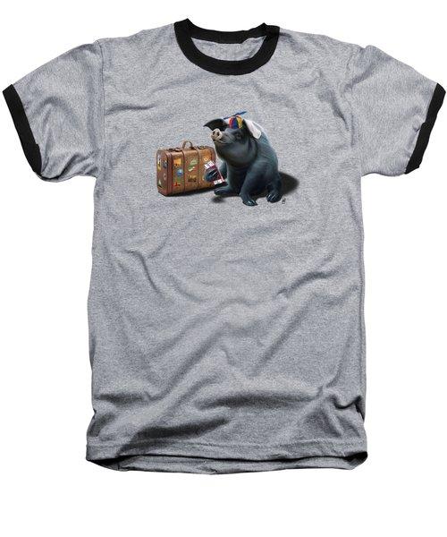 Might Wordless Baseball T-Shirt