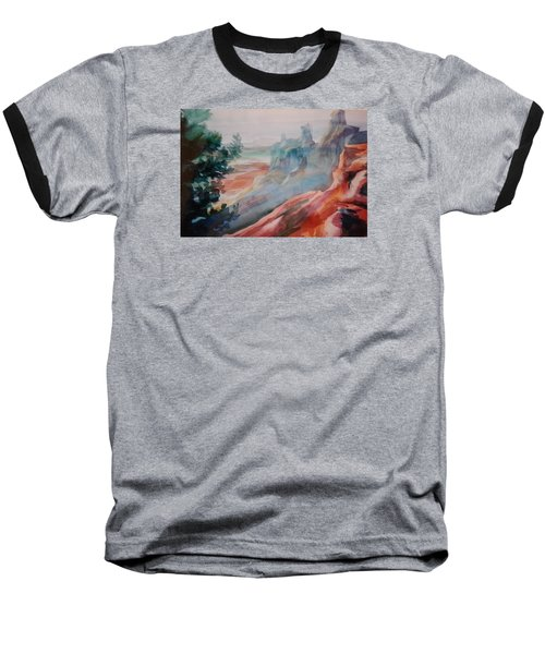 Mighty Canyon Baseball T-Shirt by Becky Chappell