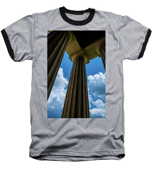 Mighty Columns  Baseball T-Shirt