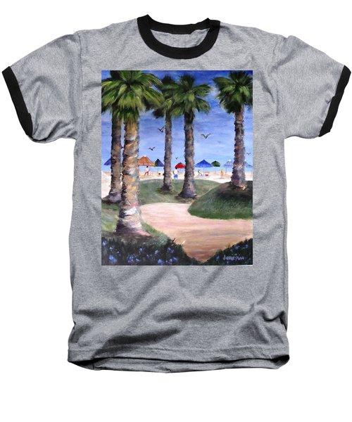 Mike's Hermosa Beach Baseball T-Shirt by Jamie Frier