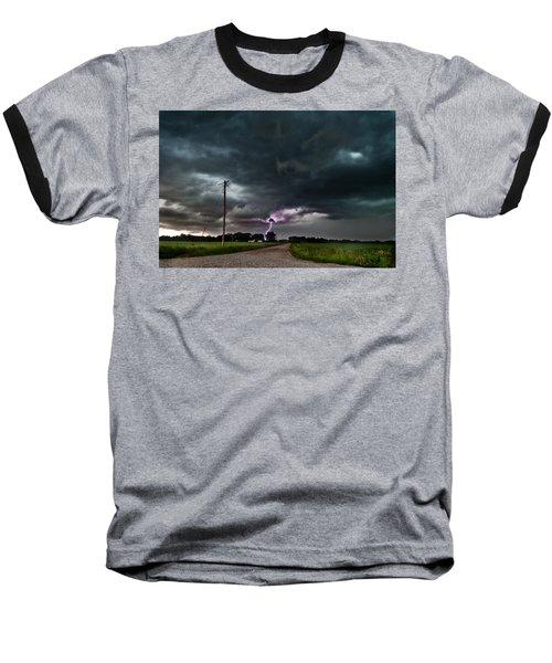 Mikey's Lightning  Baseball T-Shirt