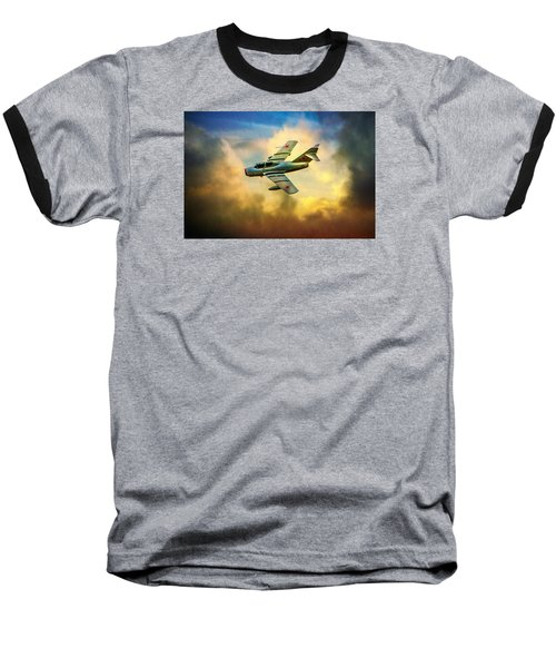 Baseball T-Shirt featuring the photograph Mikoyan-gurevich Mig-15uti by Chris Lord