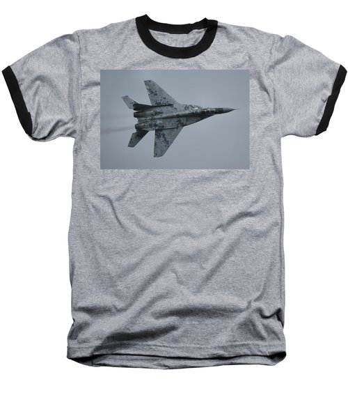 Mikoyan-gurevich Mig-29as  Baseball T-Shirt by Tim Beach