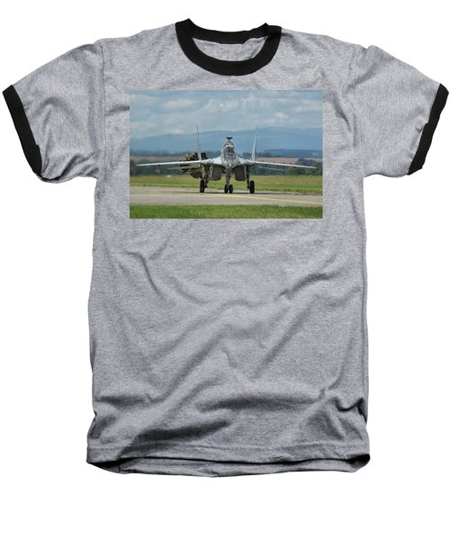 Mikoyan-gurevich Mig-29ubs Baseball T-Shirt by Tim Beach