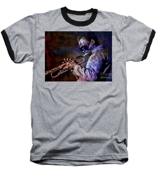 Miles Davis Jazz Legend 1969 Baseball T-Shirt