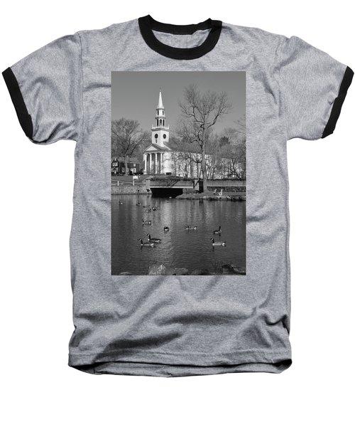 Milford Congregational Church Bw Baseball T-Shirt