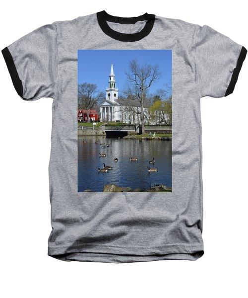 Milford Congregational Church Baseball T-Shirt