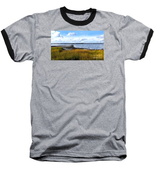 Baseball T-Shirt featuring the photograph Milford Island by Raymond Earley