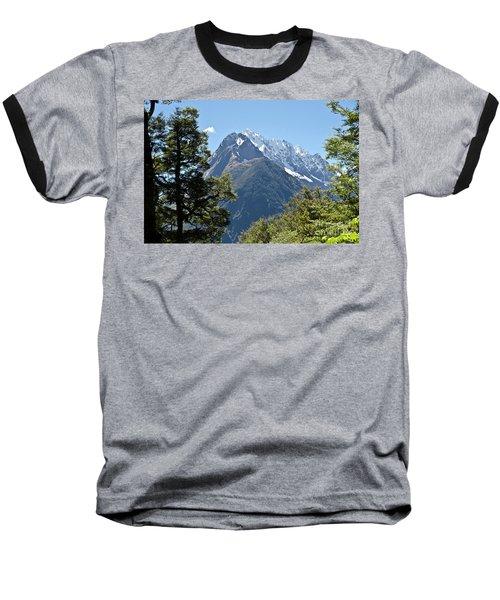 Milford Sound, New Zealand Baseball T-Shirt