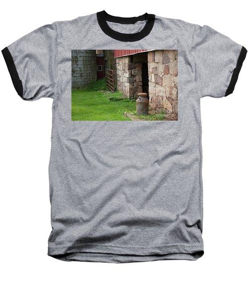 Milk Can At Stone Barn Baseball T-Shirt