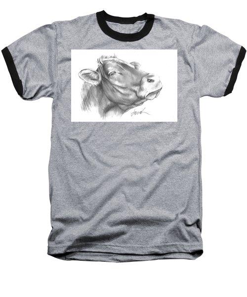 Milk Cow Baseball T-Shirt