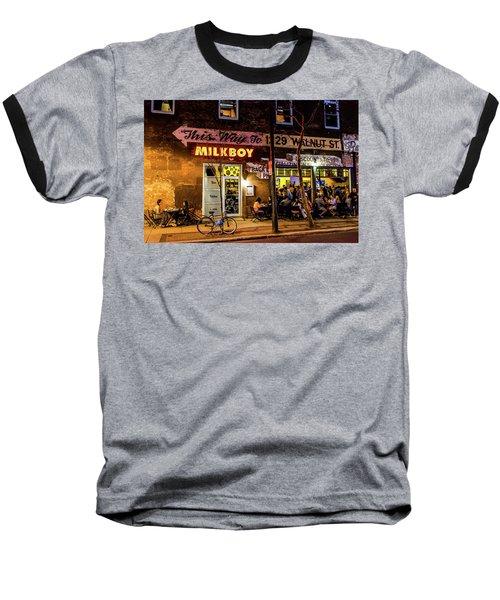 Milkboy - 1033 Baseball T-Shirt by David Sutton