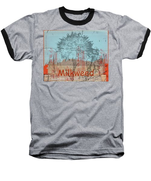 Milkweed Collage Baseball T-Shirt