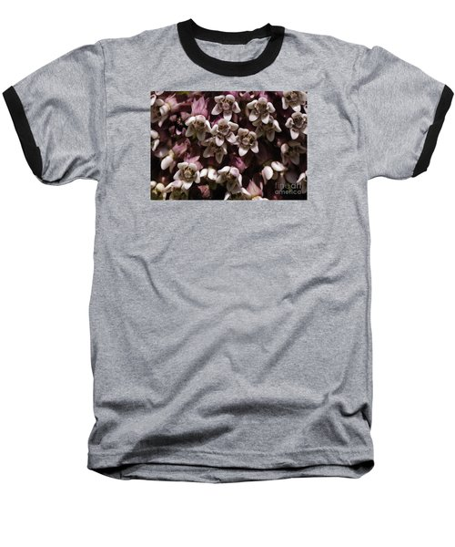 Milkweed Florets Baseball T-Shirt