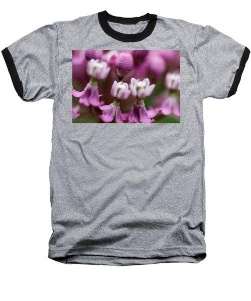 Milkweed Macro Baseball T-Shirt