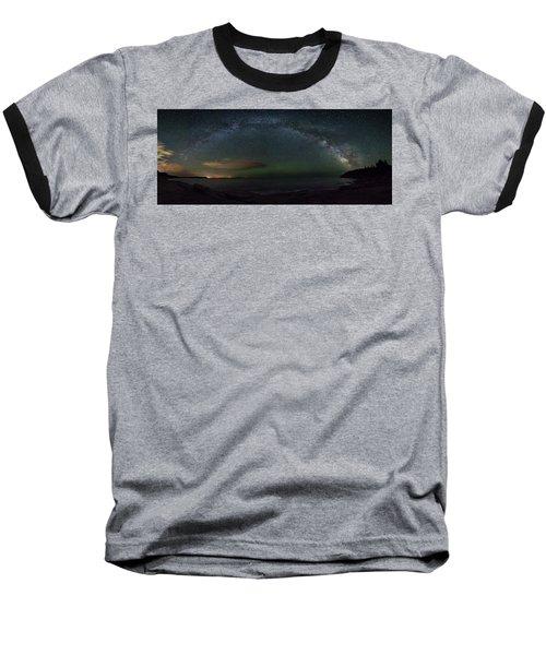 Milky Way Arch Baseball T-Shirt