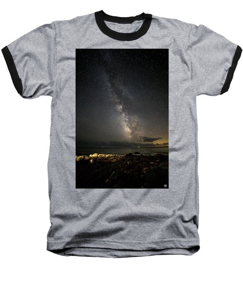 Milky Way At Pemaquid Baseball T-Shirt