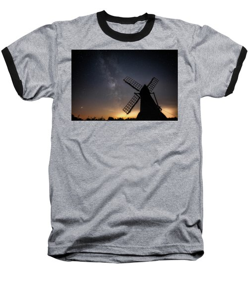 Milky Way At Wicken Baseball T-Shirt