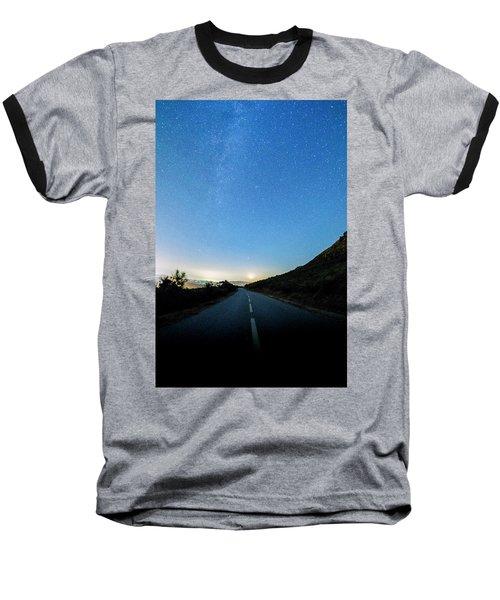 Milky Way Geres 4 Baseball T-Shirt