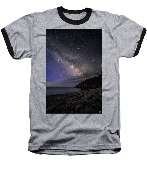 Milky Way Over Boulder Beach Baseball T-Shirt