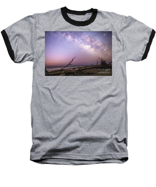 Milky Way Roots Baseball T-Shirt