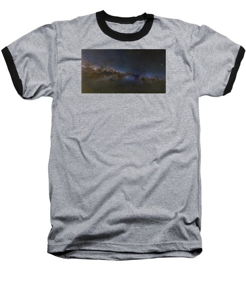 Baseball T-Shirt featuring the photograph Milky Way South by Charles Warren