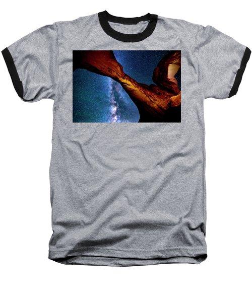 Milkyway At Arches Baseball T-Shirt