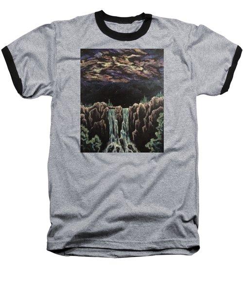 Baseball T-Shirt featuring the painting Milkyway by Cheryl Pettigrew