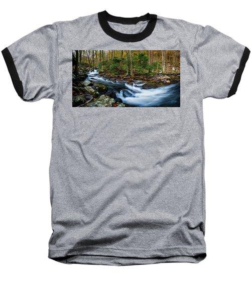 Mill Creek In Fall #2 Baseball T-Shirt
