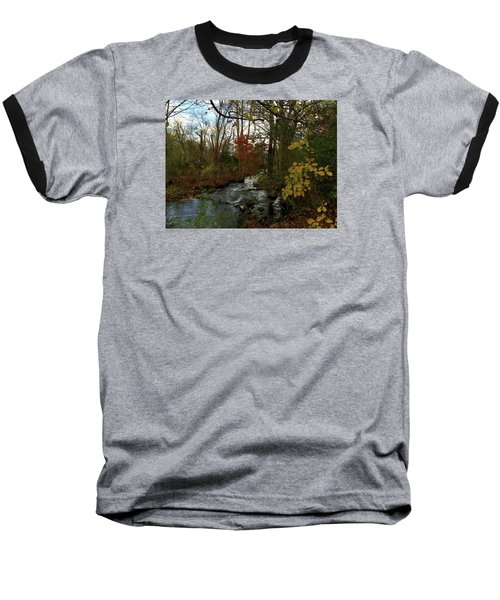 Mill Creek, Sandwich Massachusetts Baseball T-Shirt