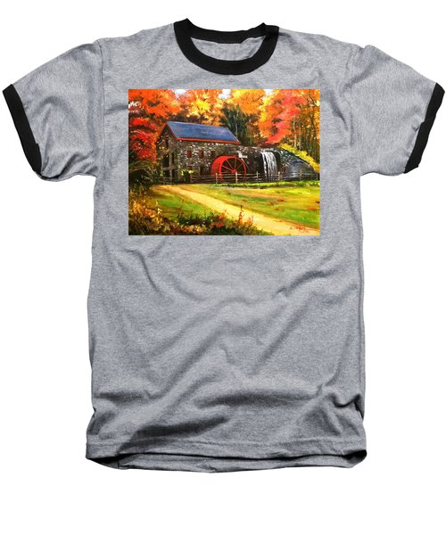 Mill House Baseball T-Shirt by Rose Wang
