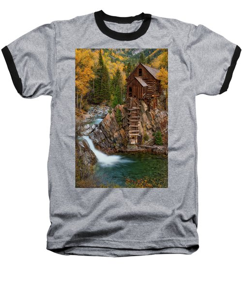 Mill In The Mountains Baseball T-Shirt