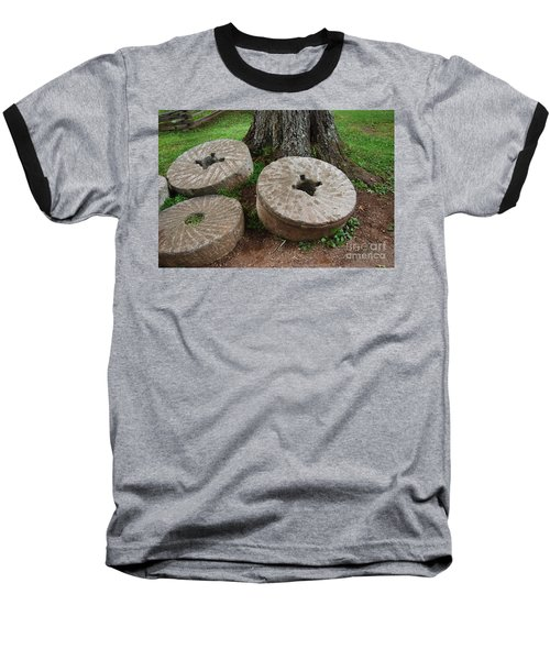 Mill Stone Baseball T-Shirt by Eric Liller