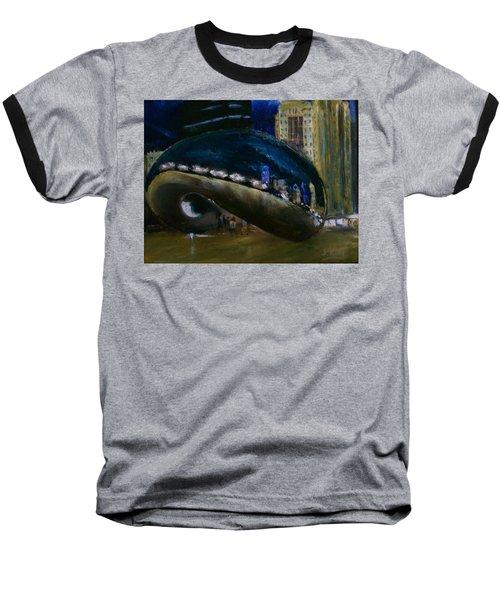 Millennium Park - Chicago Baseball T-Shirt