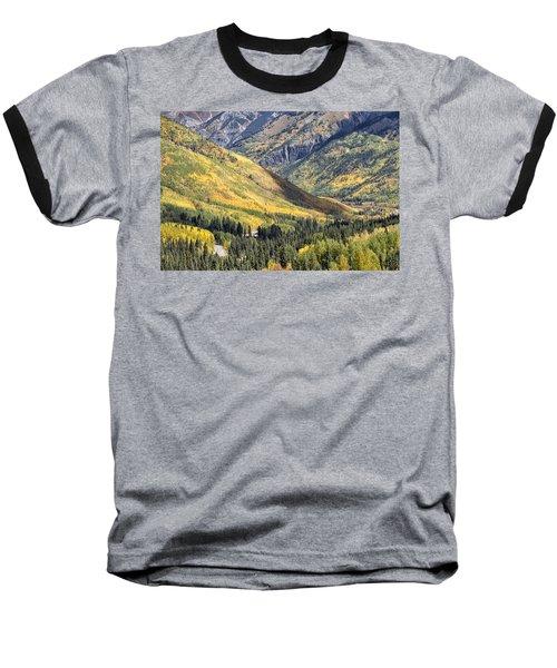 Million Dollar Highway Baseball T-Shirt