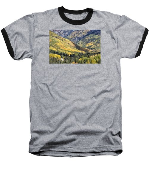 Million Dollar Highway Baseball T-Shirt