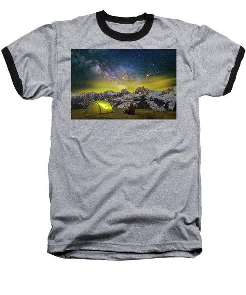 Million Star Hotel Baseball T-Shirt