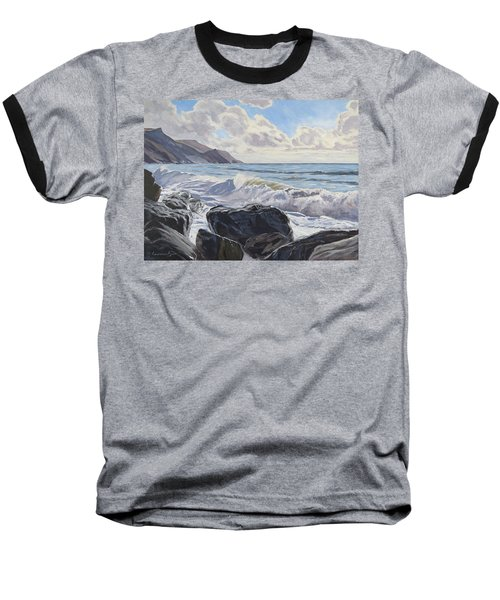 Millook Haven Baseball T-Shirt