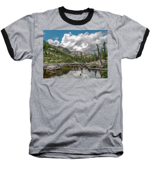 Mills Lake 5 Baseball T-Shirt