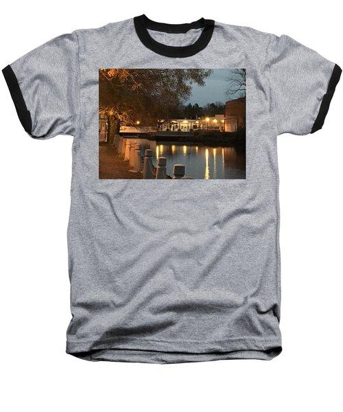 Milton By Night Baseball T-Shirt