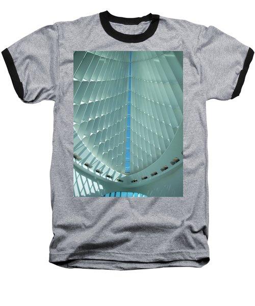 Milwaukee Art Museum Interior Baseball T-Shirt