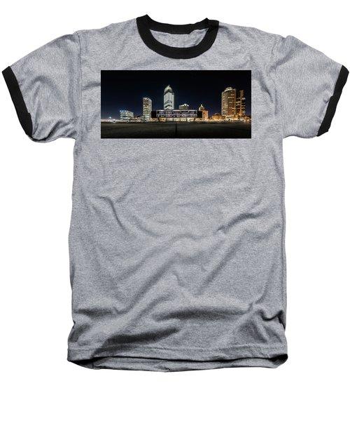 Baseball T-Shirt featuring the photograph Milwaukee County War Memorial Center by Randy Scherkenbach