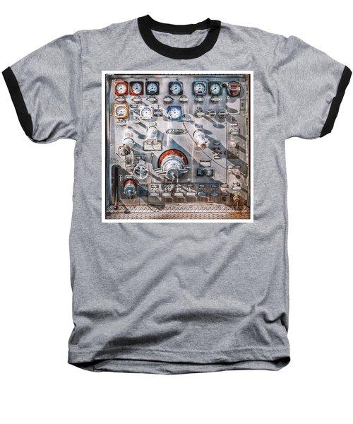 Milwaukee Fire Department Engine 27 Baseball T-Shirt