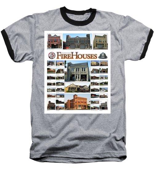 Milwaukee Fire Houses Baseball T-Shirt