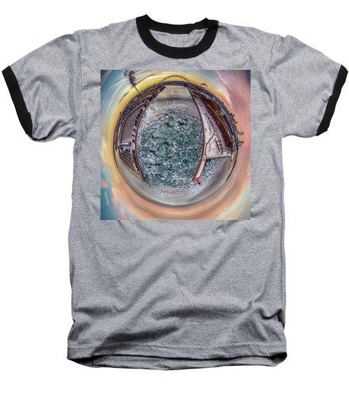 Milwaukee River Little Planet Baseball T-Shirt