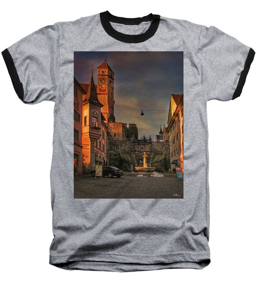 Baseball T-Shirt featuring the photograph Main Square by Hanny Heim