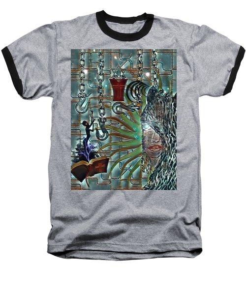 Mind Genocide Baseball T-Shirt