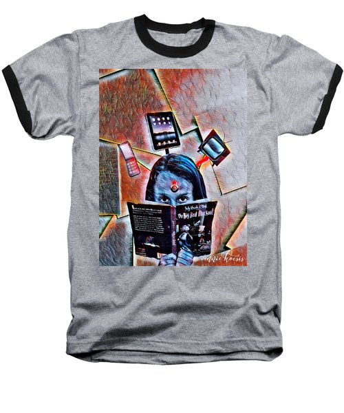 Mind Lock Baseball T-Shirt
