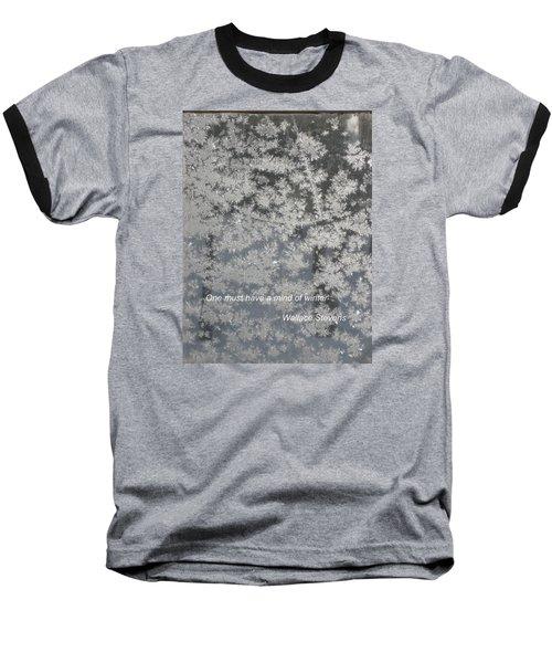 Mind Of Winter Baseball T-Shirt by Deborah Dendler